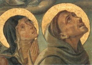 Klára és Ferenc (freskó)