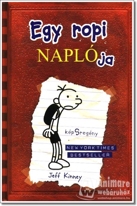 Egy ropi naplója 1. kötet - A könyv borítója