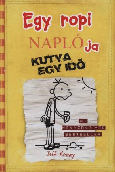 Egy ropi naplója 4. kötet - A könyv borítója